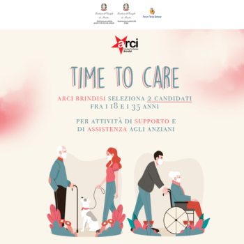 "Aperte candidature progetto ""Time to Care"""
