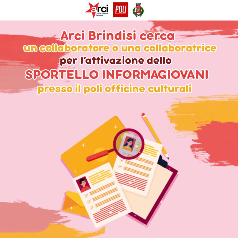 """Avviso di selezione """"Sportello Informagiovani"""""""