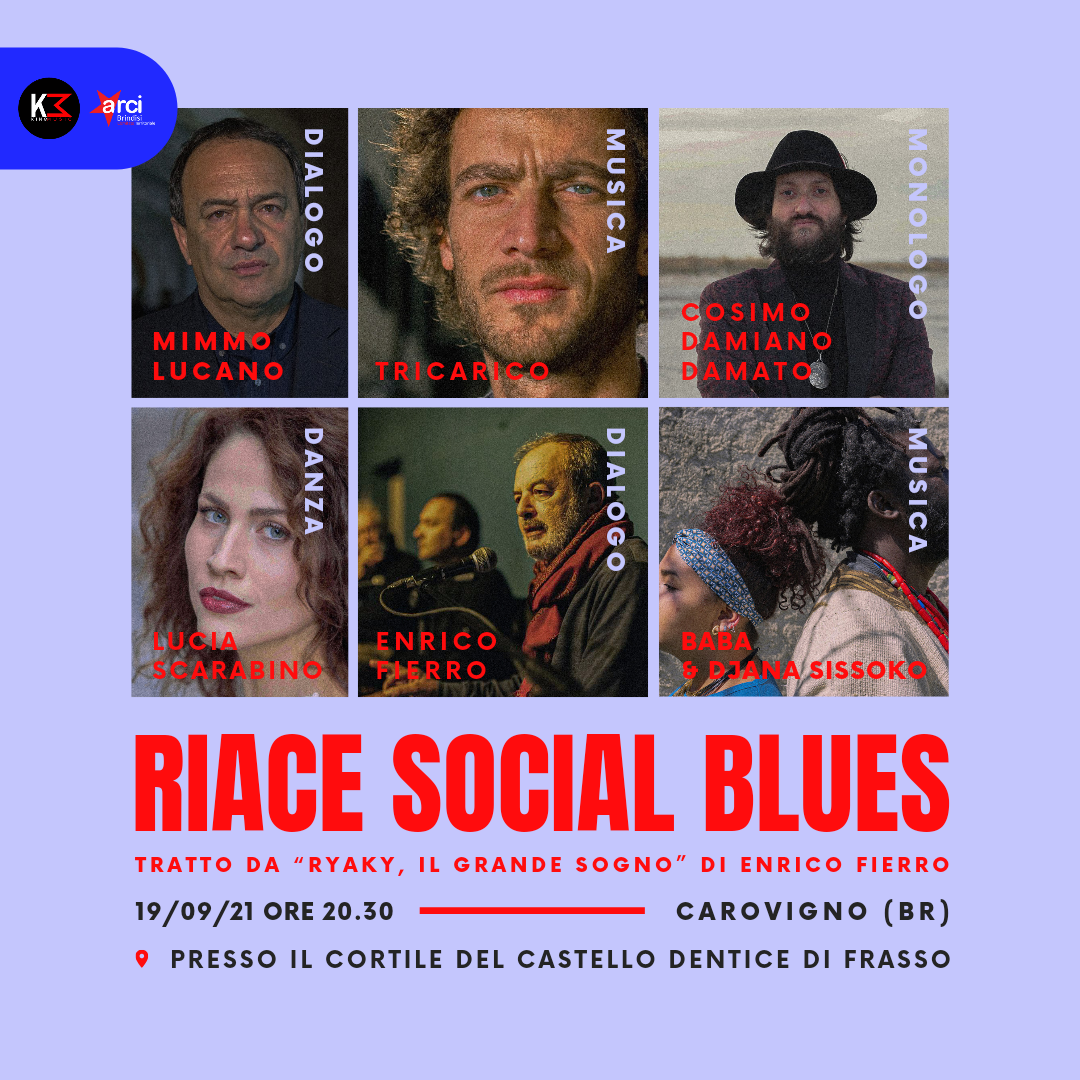 """Riace Social Blues"" a Carovigno"